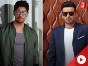 WATCH: Sidharth Malhotra and Manoj Bajpayee spotted during 'Aiyaary' promotions