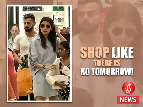 Virushka shopping
