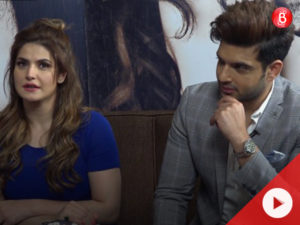 Zareen Khan and Karan Kundrra's interview