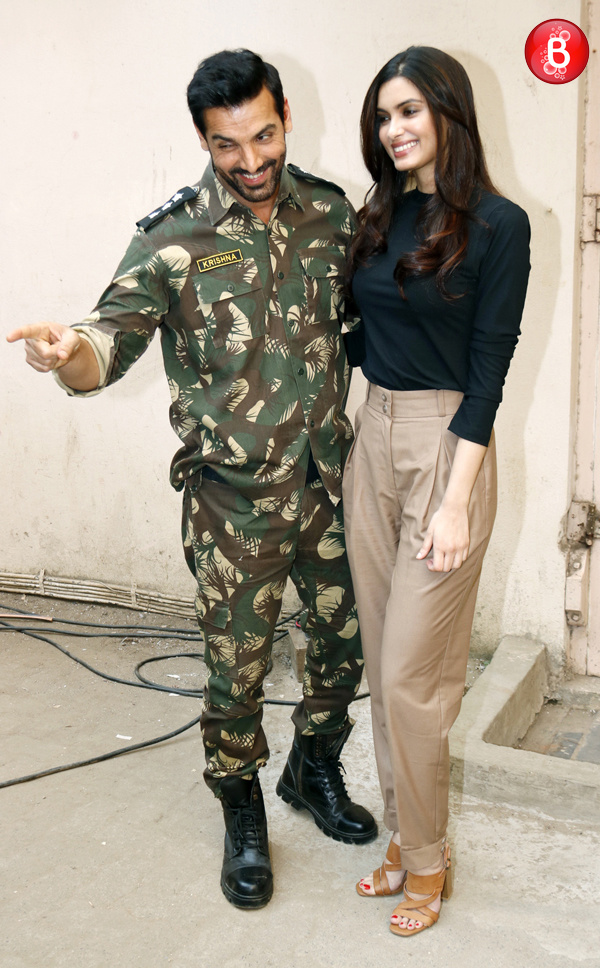 John Abraham and Diana Penty