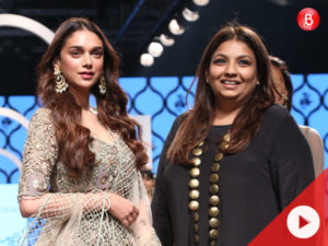 Lakme Fashion Week 2018: Aditi Rao Hydari turns muse for Payal Singhal