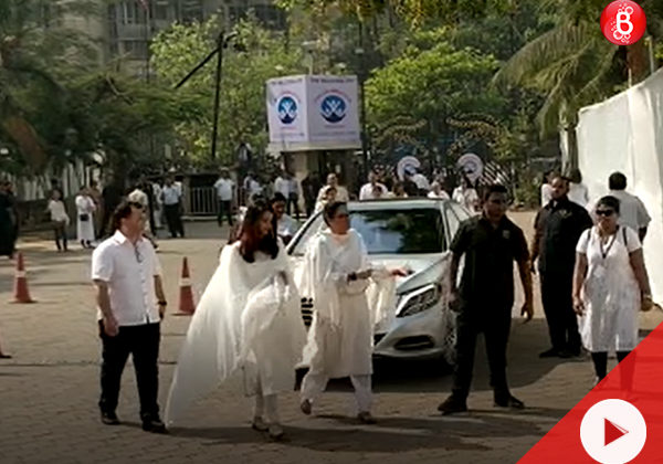 Watch: Aishwarya Rai Bachchan arrives to pay her last respects to Sridevi