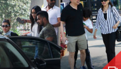 Ajay Devgn andMadhuri Dixit Nenepick the same restaurant for a weekend family lunch date