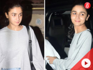 Watch: Alia Bhatt spotted with her friend at Pali Village café