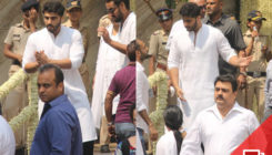 Arjun Kapoor busy with the preparations for Sridevi's last rites. SEE PICS