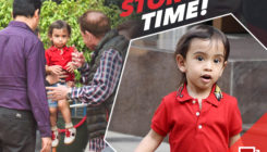 Ahil TRULY loves the storytelling sessions with nanu Salim Khan. Here's proof