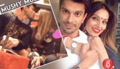 Aww! Bipasha and Karan lock lips and capture the moments specially for V-Day