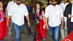 Pics: South superstar Chiranjeevi arrives in Mumbai to attend the last rites of Sridevi