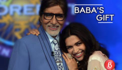 After Ranveer, Deepika Padukone receives a token of appreciation from her 'Baba' Amitabh Bachchan
