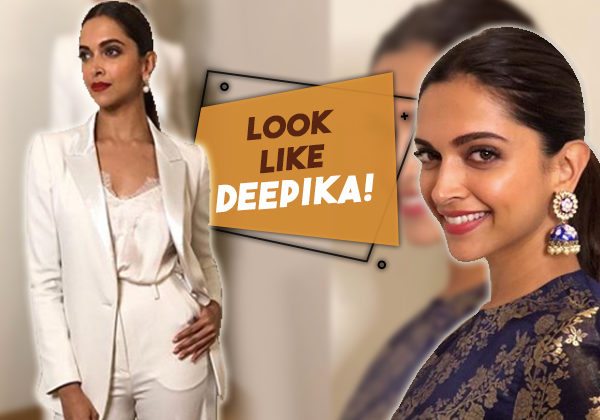 Here's how you can recreate Deepika Padukone's signature slicked-back ponytail!