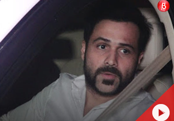 WATCH: Emraan Hashmi spotted with friends in suburban Mumbai