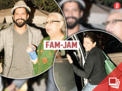 Farhan Akhtar's family spotted pictures