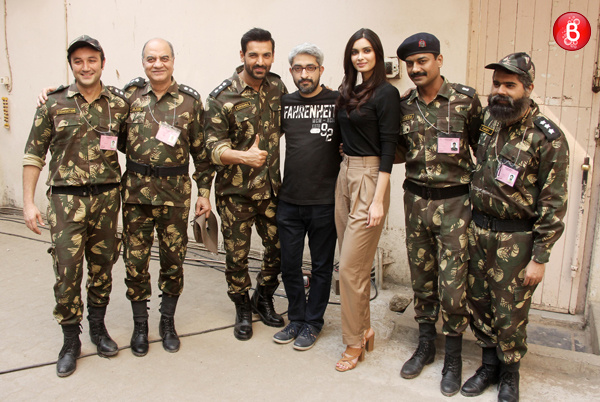 John Abraham, Diana Penty and team 'Parmanu'