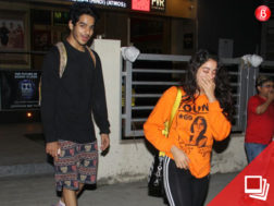 Janhvi Kapoor and Ishaan Khatter on a movie date