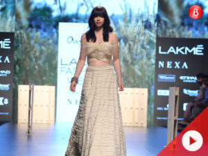 Lakme Fashion Week 2018 : Kalki Koechlin As Showstopper For Amoh By Jade