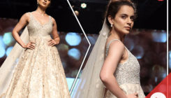 Watch: Kangana's princessy look will stun you as she takes to the ramp at LFW 2018