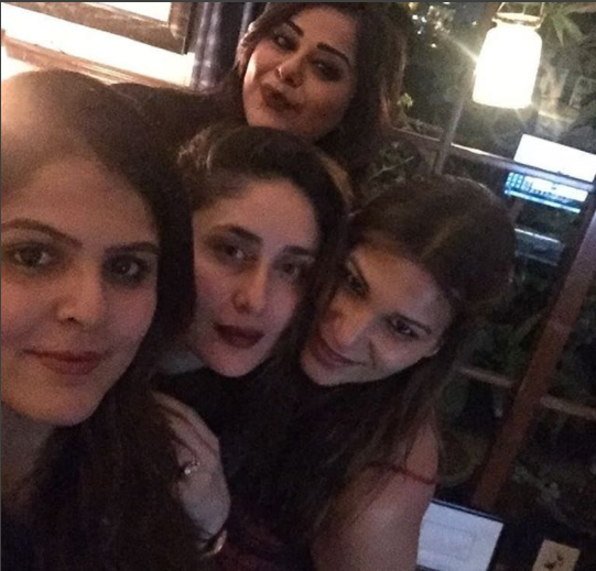 Kareena and team
