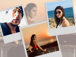 Katrina Kaif, Shah Rukh Khan and Mahira Khan