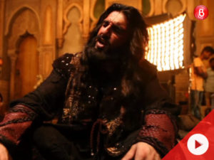 Watch: Here's how Ranveer Singh turned into the monstrous Khilji in the song 'Khalibali'