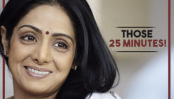 Those special 25 minutes that I spent with Sridevi
