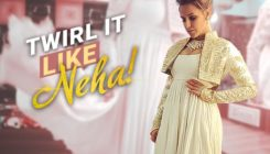 Neha Dhupia has her 'ghoomar' moment in an exquisite anarkali!