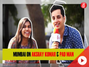 Watch: Mumbaikars on Akshay Kumar and the 'PadMan' revolution