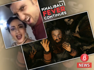 Ranveer Singh and Amruta Khanvilkar do 'Khalibali'