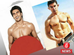 Ranveer and Aamir photos