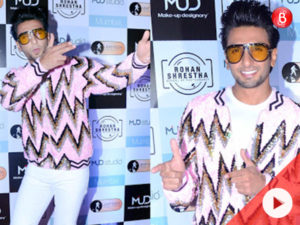 Watch: Ranveer attends launch of dear friend Rohan Shrestha's photography school