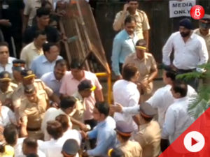 Watch: Shah Rukh Khan arrives at cremation ground to bid farewell to Sridevi
