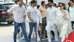 JUST IN! Shahid, Mira, Sidharth Malhotra and others arrive to bid adieu to Sridevi