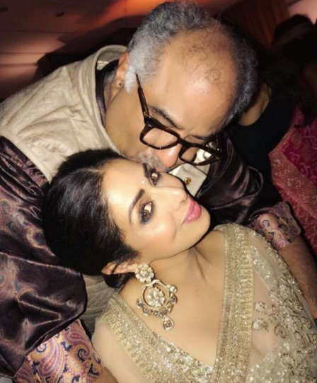 Sridevi with hubby