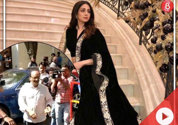 Sridevi's family doctor urgently rushed to Kapoor residence to tend to family members
