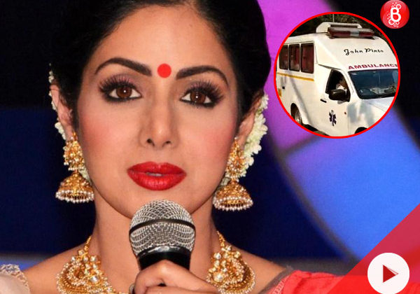 WATCH: Sridevi's mortal remains reach Celebration Sports Club, people to pay their last respects
