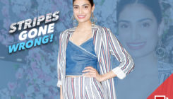 PICS: Athiya Shetty dresses up in STRIPES from tip to toe and it's hard to digest