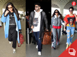 The Kapoor clan at the airport