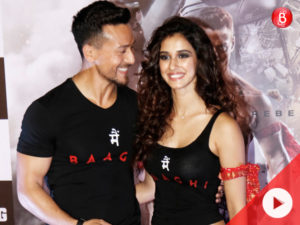 WATCH! Baaghi 2 trailer launch: Disha just couldn't STOP smiling in Tiger Shroff's company