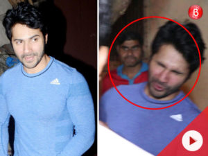 Watch: Varun Dhawan gets INJURED, and guess what is his first REACTION!