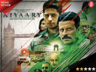 Aiyaary movie review: The men in army fail to shine through the muddled up plot