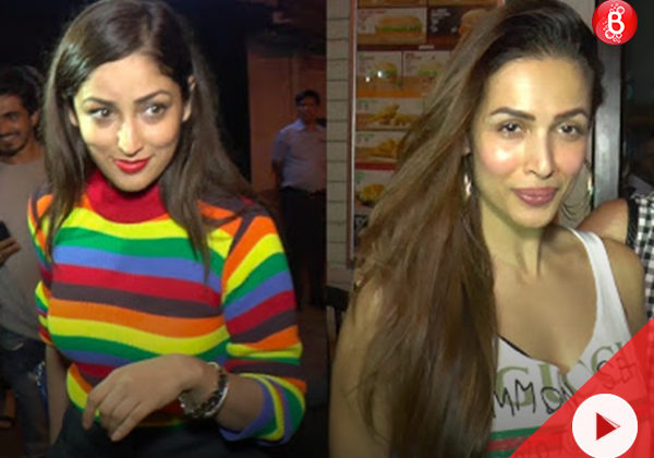 WATCH: Yami, Malaika and Amrita spotted post their dinner outing