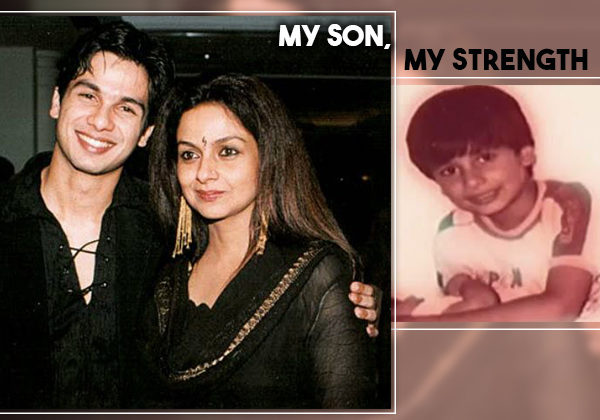 When a little Shahid found his mother Neelima Azeem crying and became her strength
