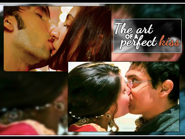 Learn the art of perfect kisses ala Bollywood style!