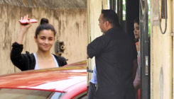 PICS: Alia Bhatt and Janhvi Kapoor work hard and sweat it out at the gym