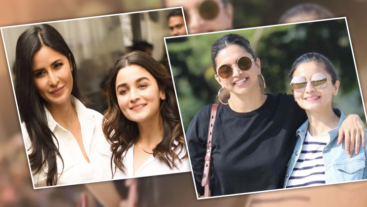 Alia Bhatt reveals details about working with Katrina Kaif and Deepika Padukone