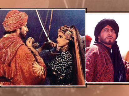 Amitabh Bachchan's old interview on 'Khuda Gawah'