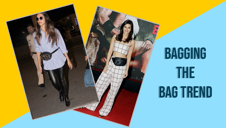 Kriti Sanon just flaunted a bum bag, but can she beat Deepika's Gucci stunner?