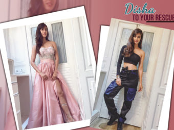 Disha Patani provides some serious fashion hacks for all broad-shouldered girls out there!