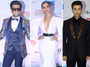Watch: Ranveer, Deepika, Karan and others at their stylish best at Hello Hall Of Fame Awards