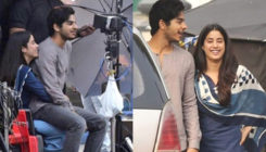 Candid snaps: Janhvi and Ishaan's BOND on the sets of 'Dhadak' is not to be missed