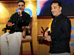kamal hassan's pictures at bombay stock exchange